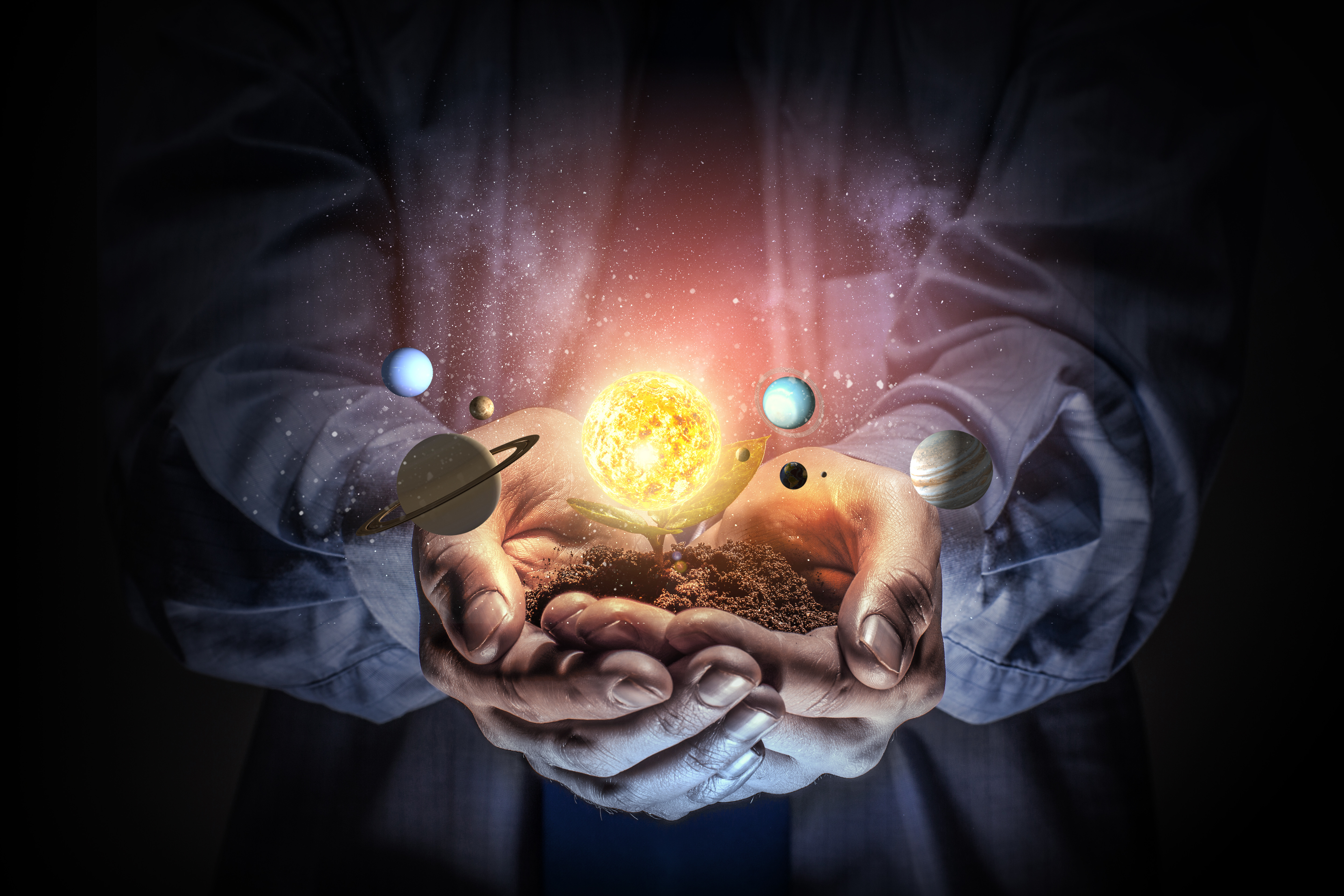Union of Human and Cosmic Power