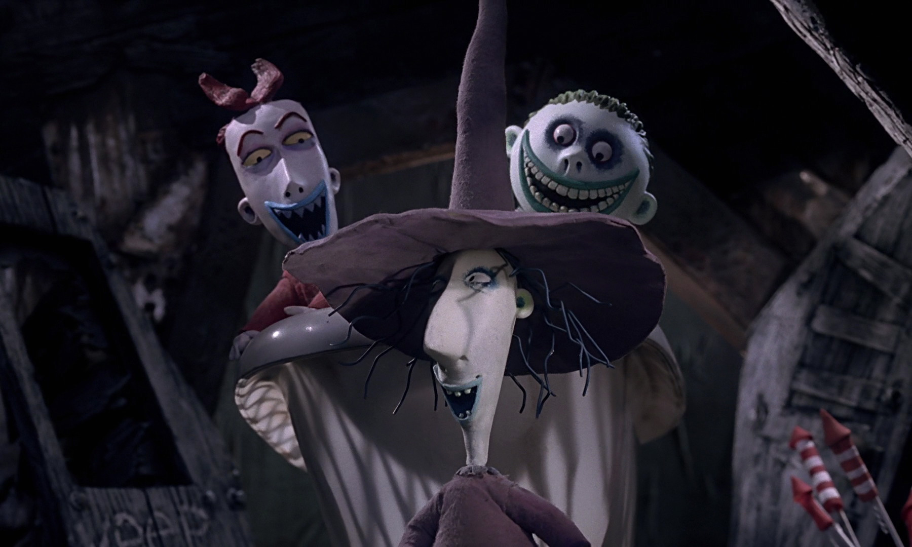 A Mischievous Trio